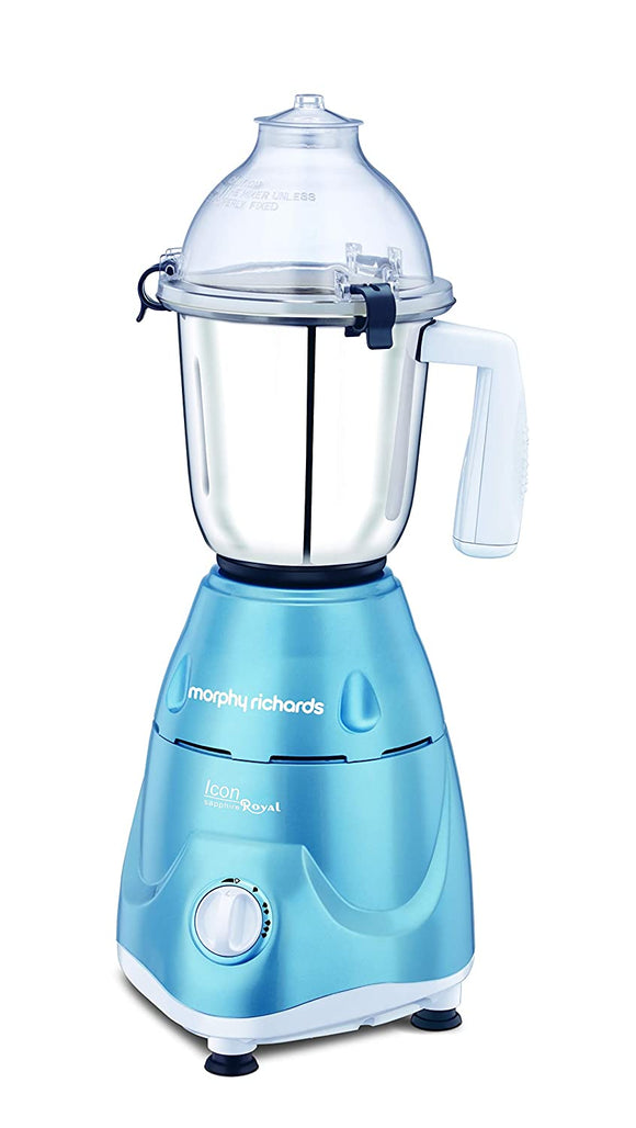 Morphy Richards Icon Royale 600-Watt Mixer Grinder (Sapphire)