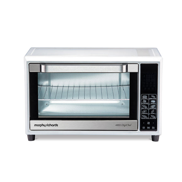 MORPHY RICHARDS 48SS DIGICHEF, 48 L DIGITAL OVEN TOASTER GRILLER WITH CUSTOMIZED AUTOCOOK MODES, 59 PRE-SET MENUS