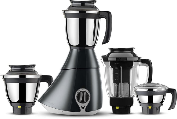 Butterfly Matchless Mixer Grinder, 750W, 4 Jars (Grey/ White)