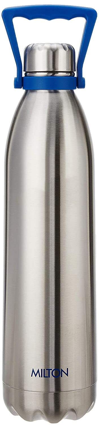 Milton  Duo Deluxe with Handle 2000 Vacuum Insulated Bottle, 1860 ml, Silver