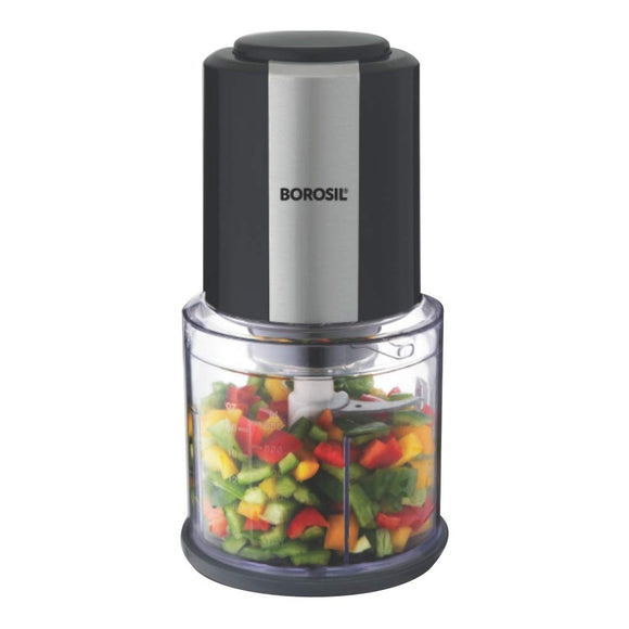 Borosil Chef Delite 300-Watt Chopper (Black)