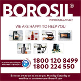 Borosil Prima 19 L OTG, with Convection, 1300 W, 5 Stage Heating Function, Silver