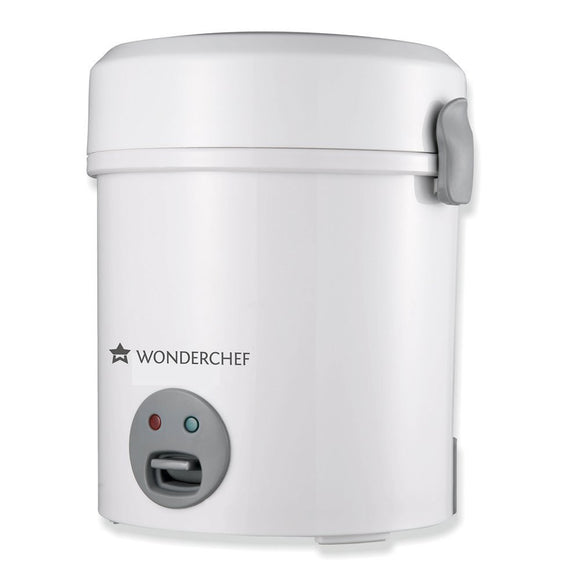 Wonderchef Mini Rice Cooker, 500ml (Sliver)