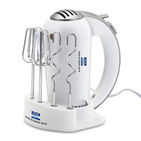KENT Hand Blender- 300 W, White