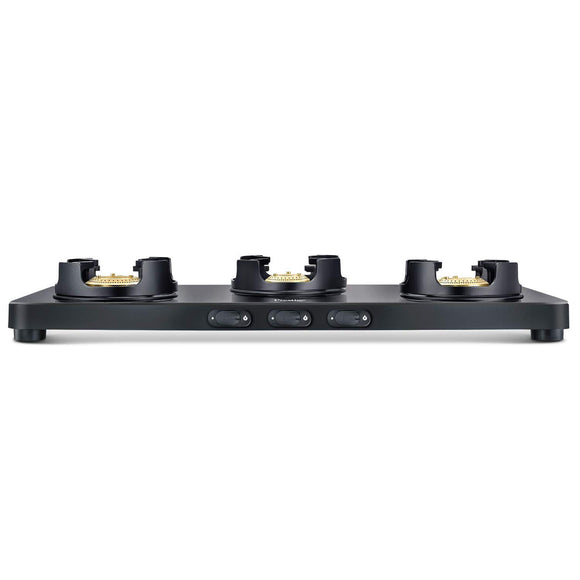 Prestige Edge 3 Burner Glasstop Gas Stove PEBS, Black