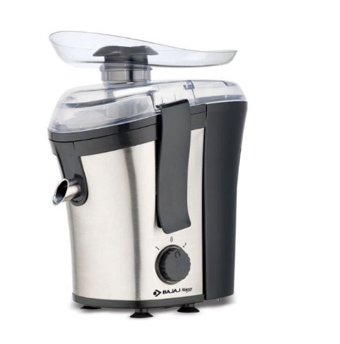 Bajaj Majesty JEX 15 400-Watt Juice Extractor,Black&Silver