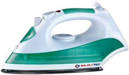 BAJAJ Majesty MX8 1200 W Steam Iron  (Green White)