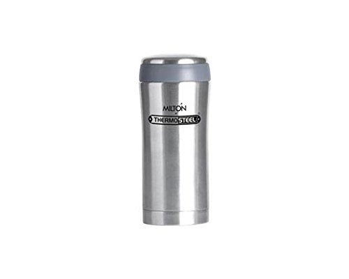 Milton Optima Stainless Steel Flask, 470ml/7cm, Silver