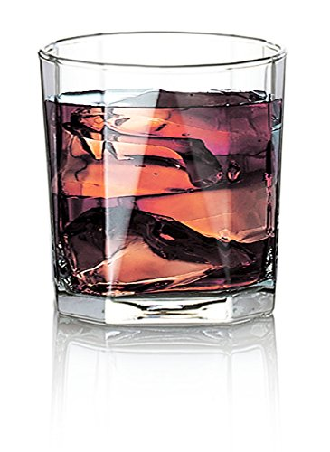 Ocean Rock Glass Set Pyramid Glass Set, 330ml, Set of 6