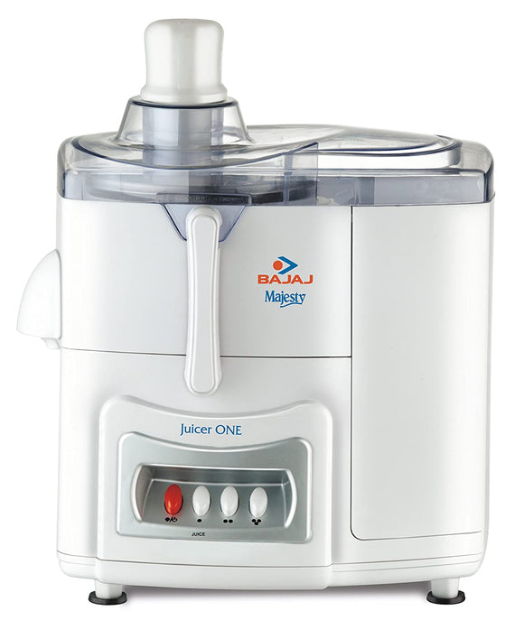 Bajaj Majesty One 500-Watt Juicer (White)