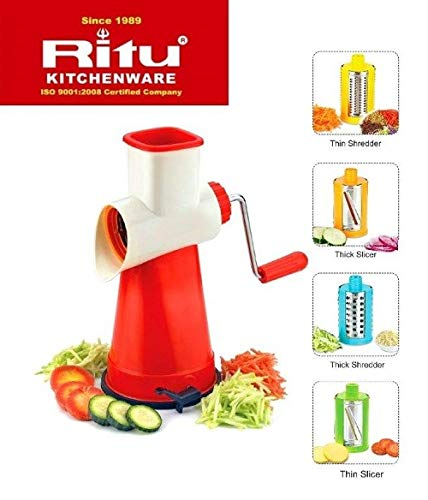 RITU 4 IN 1 DRUM SHREDDER  SLICER