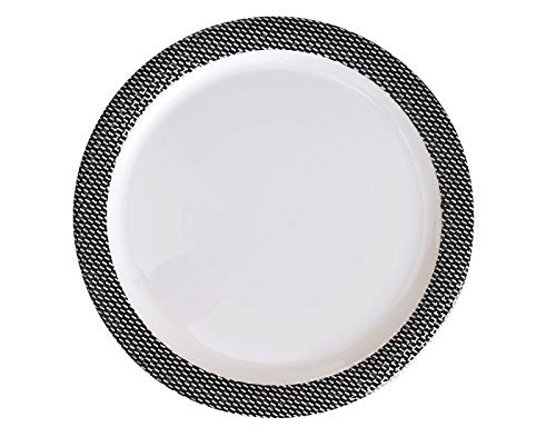 Dinewell Fluenza Dinner Plate (White)