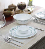 Diva By LaOpala 19-Pieces Opalware Dinner Set, Lavendar Dew
