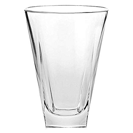 Vidivi Italian Ducale Tumbler Glass, 410 ml,  Set of 6, Transparent