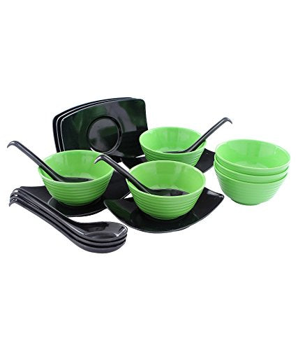 Tibros Melamine Soup Set 18 Pcs