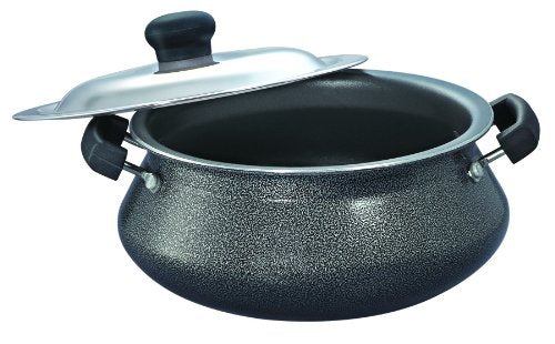 Prestige Omega Select Plus Junior Handi 200mm with Lid,Black