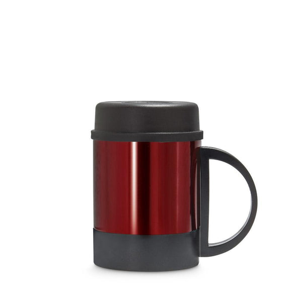 Freelance Stainless Steel Flask, Mug, Water Beverage Cup, Tumbler 250 ml, Red