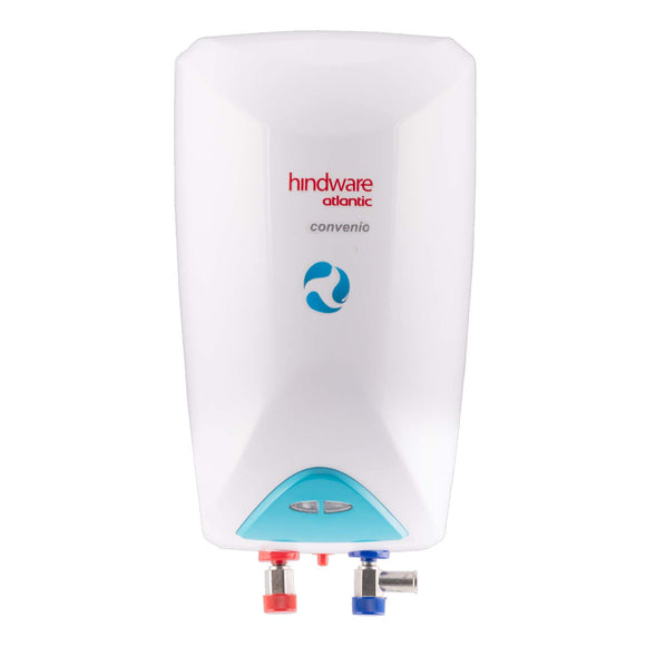 Hindware Atlantic HI03PDD30E1 2.8-Litre Instant Water Heater (White/ Blue)