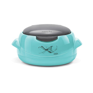 Milton Plastic Microwave One touch Casserole (Blue, 1500ml)