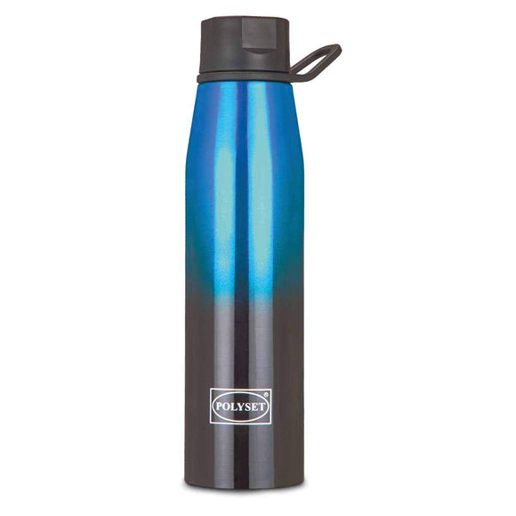 Polyset Coco Stainless Steel Premium Vaccum Bottle, 500ml (Blue)