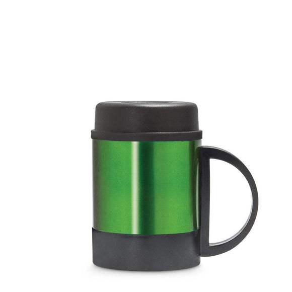Freelance Stainless Steel Flask, Mug, Water Beverage Cup, Tumbler 250 ml, Green