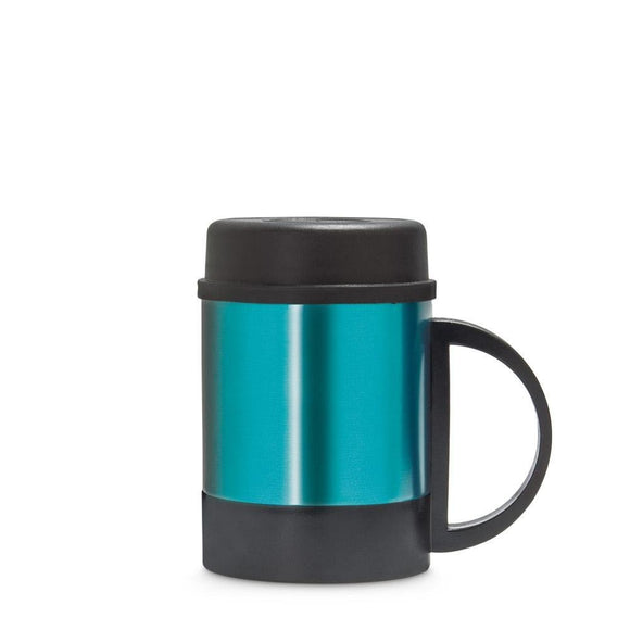 Freelance Stainless Steel Flask, Mug, Water Beverage Cup, Tumbler 250 ml, Turquoise