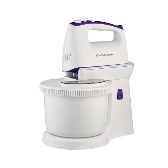 Wonderchef Regalia 63152234 400-Watt Stand Mixer (Violet/White)