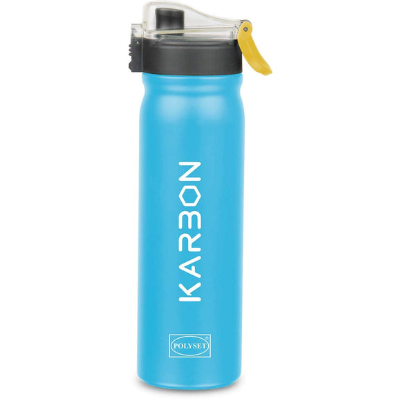 Polyset Karbon Stainless Steel Vaccum Bottle (Blue)