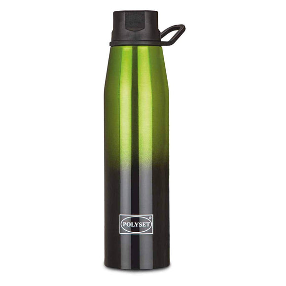 Polyset Coco Stainless Steel Premium Vaccum Bottle, 500ml (Green)