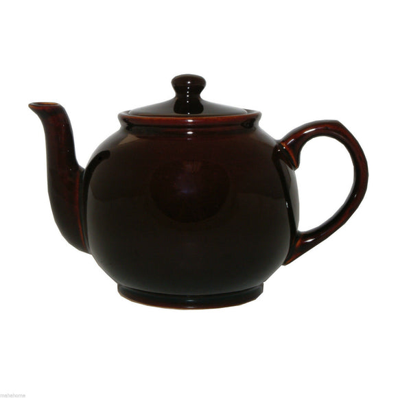 Stoneware Tea Kettle Brown
