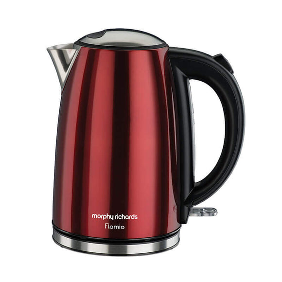 Morphy Richards Flamio 1.7 LTR Electric Kettle (Red)