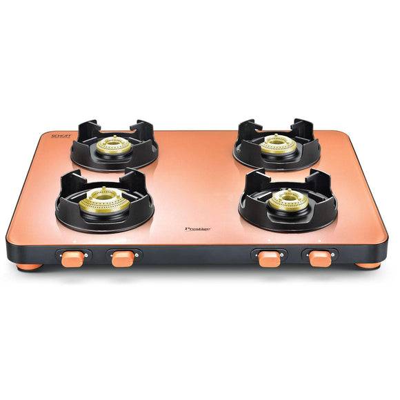 Prestige Edge Gas Table PEPS 04 - Pastel Gas Stove
