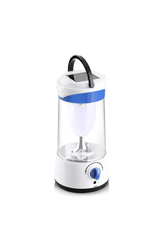 Pigeon Plastic Solar LED Lamp Helios (White and Blue)