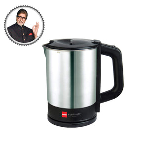 Cello Quickboil 1000 A Electric Kettle 1 Ltr, Black