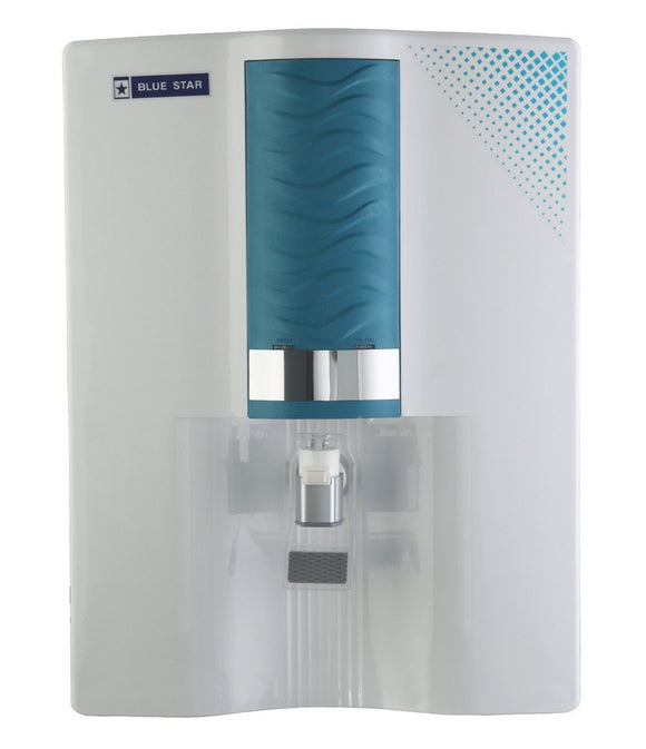 Blue Star Majesto MA4WBAM01 8-Litre RO + UV Water Purifier (White/Blue)