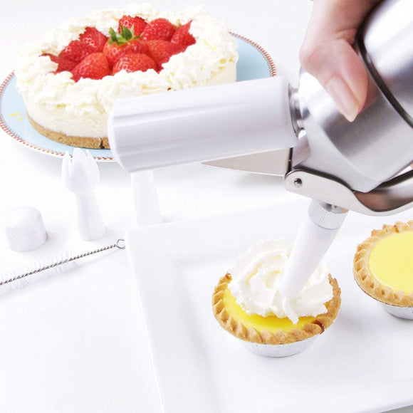 Bergner Masterpro Foodies Collection 500 ml Whipped Cream Dispenser