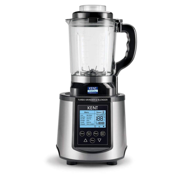 KENT Turbo Grinder and Blender 3000-Watt (Steel Grey & Black)