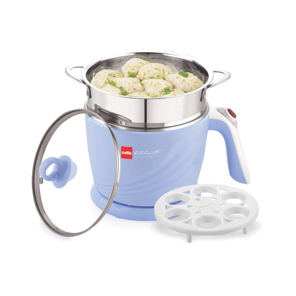 Cello 100 B Multi Utility Cooker 1.2 Litre (Lavender)