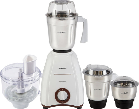 Havells Momenta 600-Watt Kneading and Chopping Attachment (Brown)