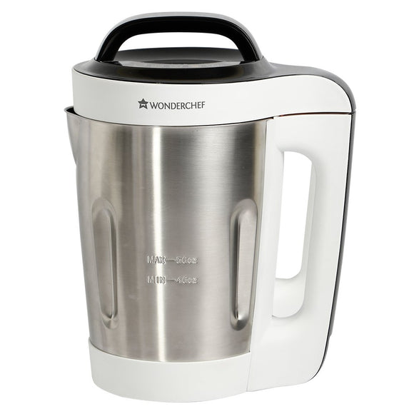 Wonderchef Automatic Soup Maker 800-Watt (White and Steel)