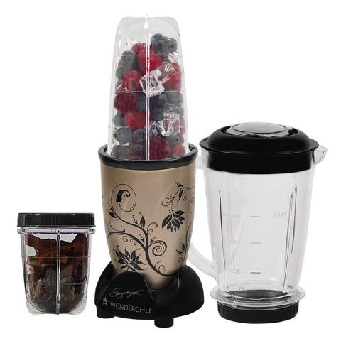 Wonderchef Nutri 400-Watt Blender with Jar (Champagne)