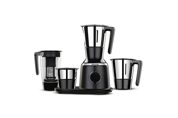 Butterfly Spectra Mixer Grinder Juicer 4 Jar Black