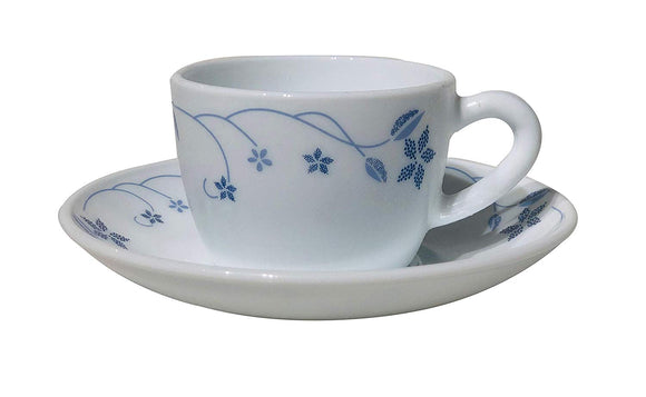 Larah by Brorsil 12 pcs Cup and Saucer Set, Flora