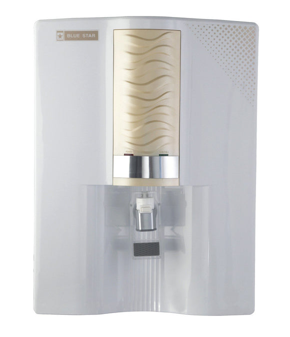 Blue Star Majesto MA4WGAM01 8-Litre  RO + UV Water Purifier (White/Golden)