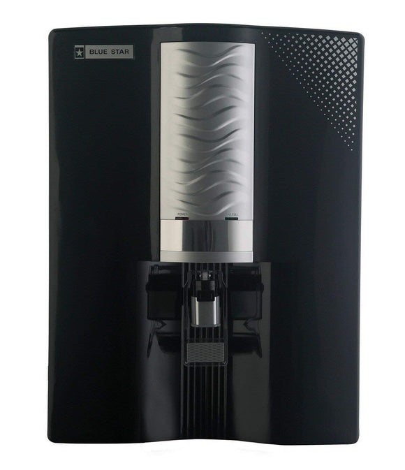 Blue Star Majesto MA3BSAM01 8-Litre RO Water Purifier (Black/Silver)