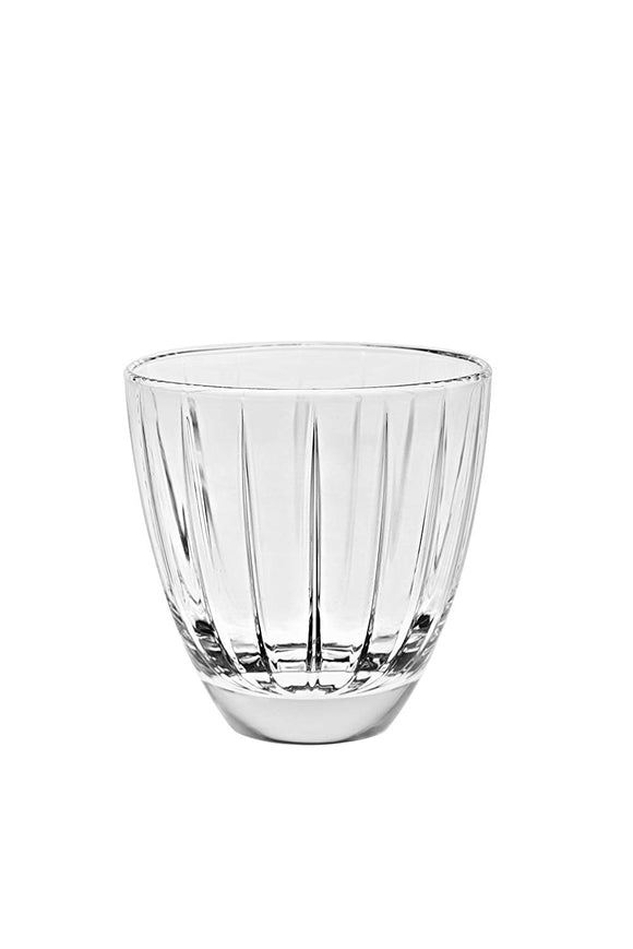 Vidivi Italian Accademia Tumbler Glass, 240 ml, Set of 6, Transparent