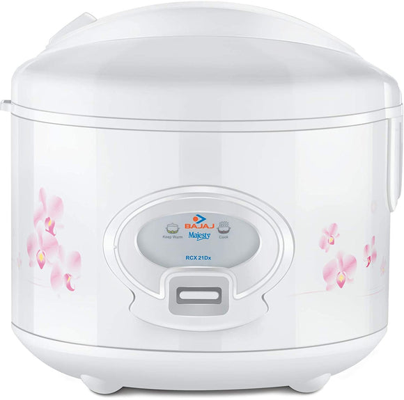 Bajaj Majesty New RCX21 DLX 550-Watt Deluxe Multifunction Cooker