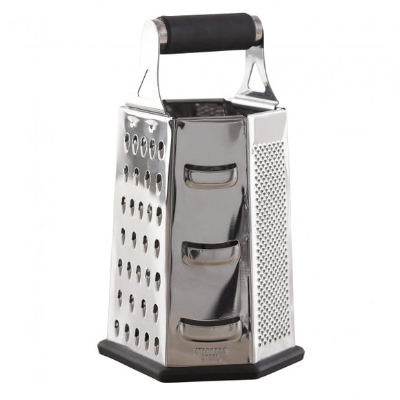 6 Sided Stainless Steel Multi Grater