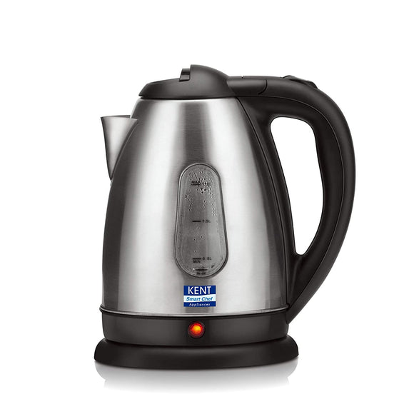 Kent 1.8-Liter Electric Kettle SS (Silver)