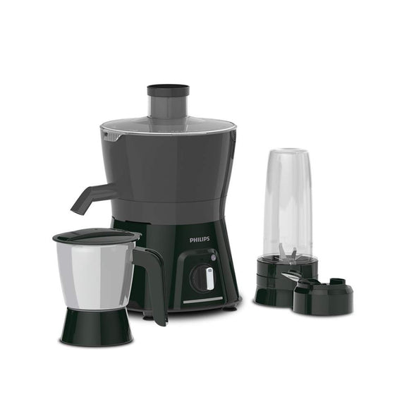 Philips HL7579 600W Turbo Juicer Mixer Grinder with 3 Jars - Blend and Curry, Nutri Juicer Jar, Multi Purpose jar